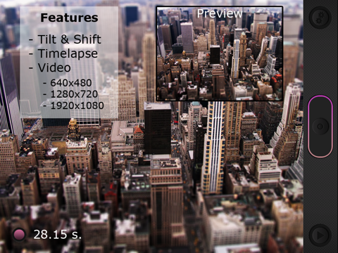 Miniatures: Tilt-Shift Time-Lapse Videos Screenshot 0