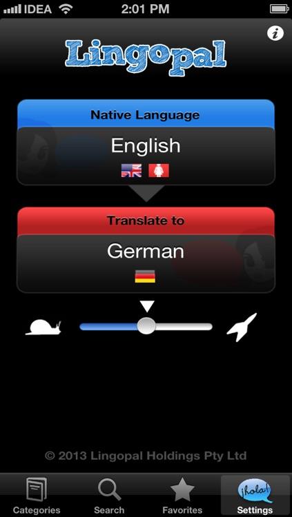 Lingopal German LITE - talking phrasebook