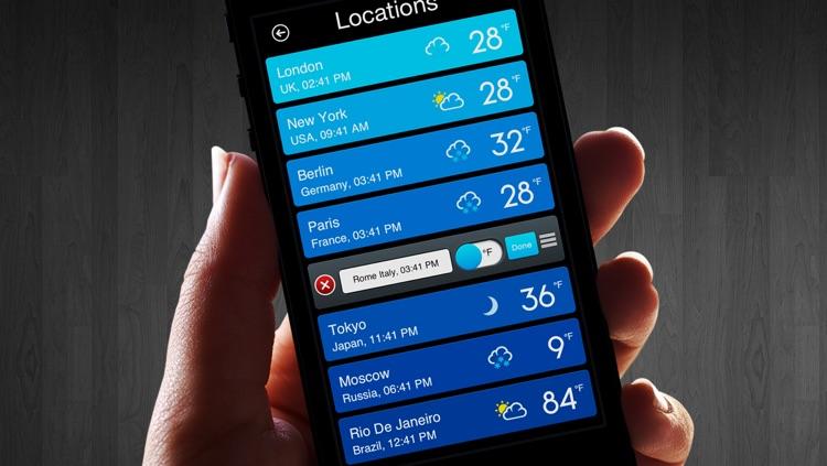 Weather Magic - Live Weather Forecasts & World Clock