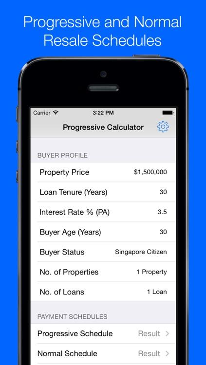 Progressive Payment Calculator