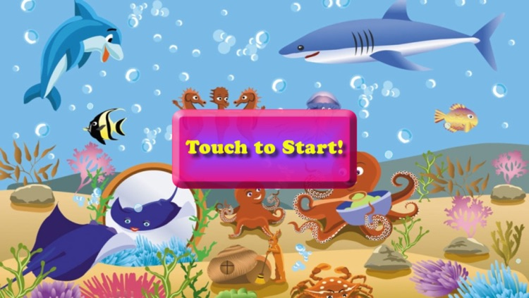 Fishes Puzzles for Toddlers and Kids
