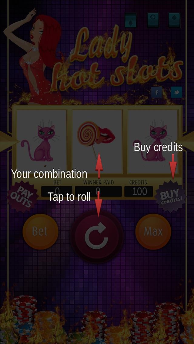 Hot lady app