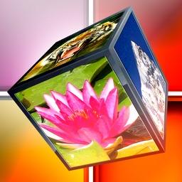 3D Cube Photo Puzzle