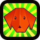 Le monde du meilleur chien origami  jeu gratuit icon