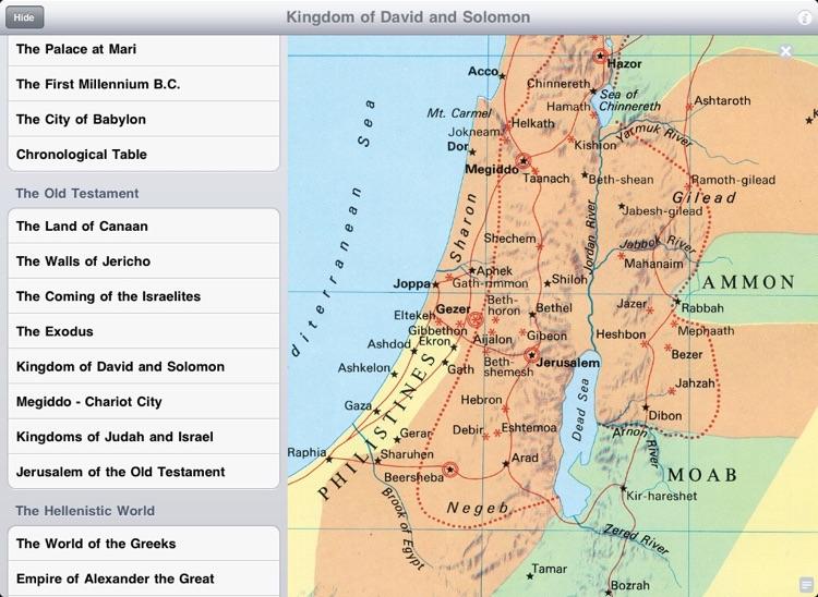 Carta Compact Atlas HD, Bible Maps