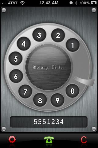 Rotary Dialer screenshot-3