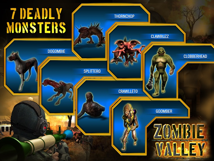 Zombie Valley HD screenshot-1