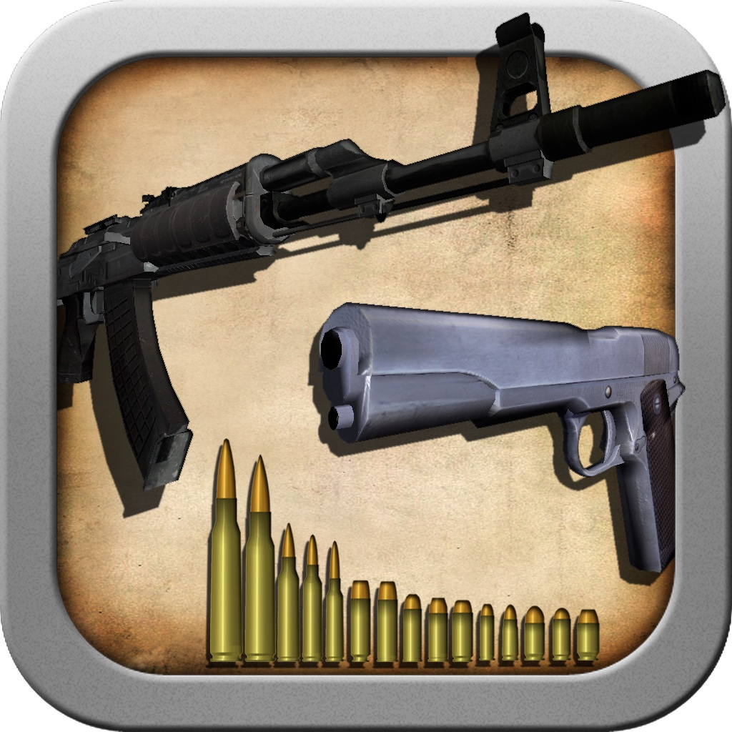 Modern Guns and Ammo Wiki 3D - Pick and Shoot