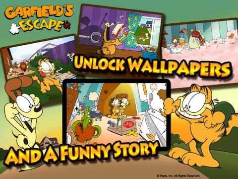Игра Garfield's Escape