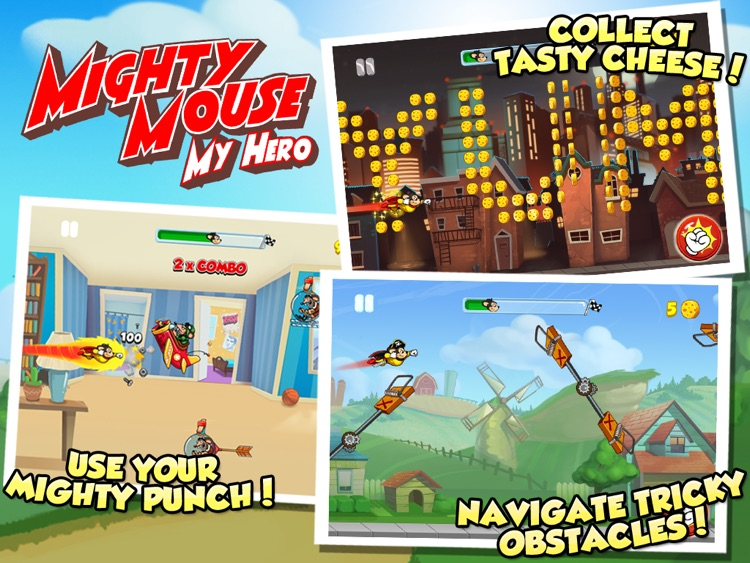 MIGHTY MOUSE My Hero HD screenshot-0