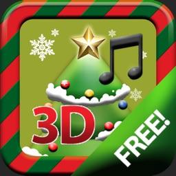 X-MAS 3D CAROL TREE CARD
