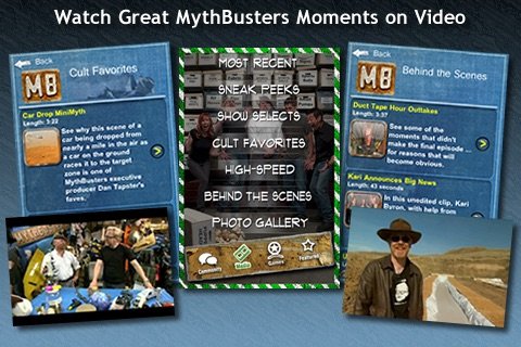 MythBusters iPhone and iPod Touch Edition screenshot-3