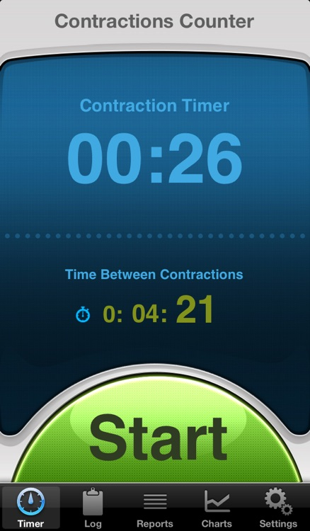 Contractions Counter: pregnancy contraction timer