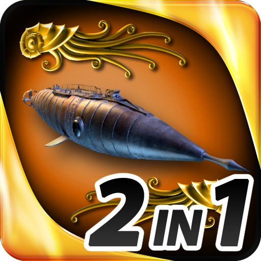 Hidden Objects - 2 in 1 - Jules Verne Pack icon