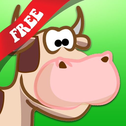 Free Shape Game Farm Animals Cartoon