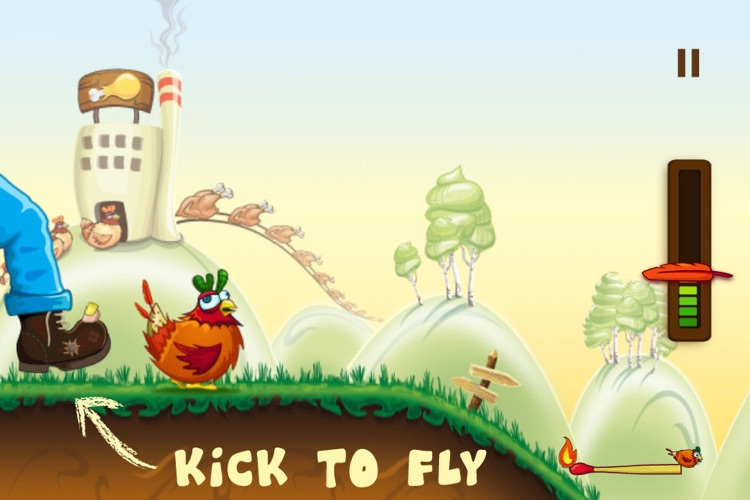 Rocket Chicken (Fly Without Wings) screenshot-0