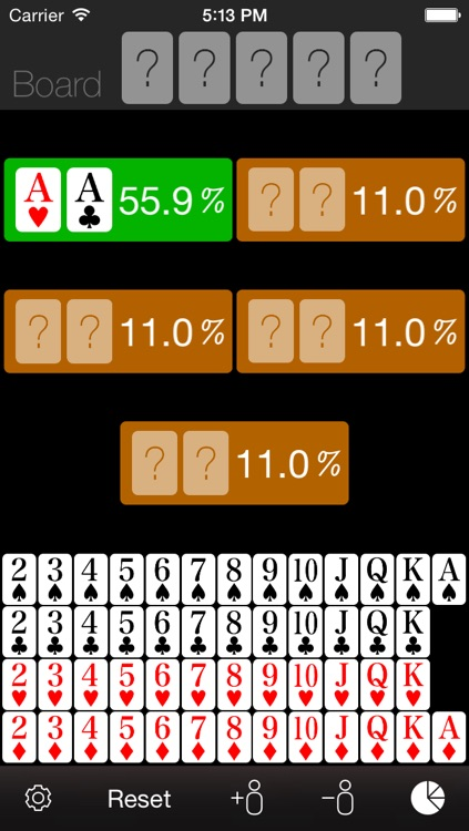 Poker News Odds Calculator