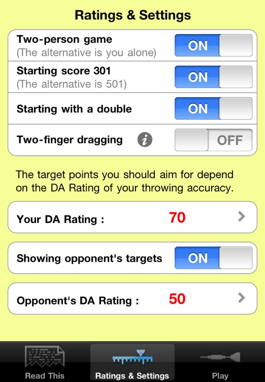 Darts Assistant: darts scorer & darts finishes