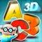 App Icon for Alfabeto 3D App in Mexico IOS App Store