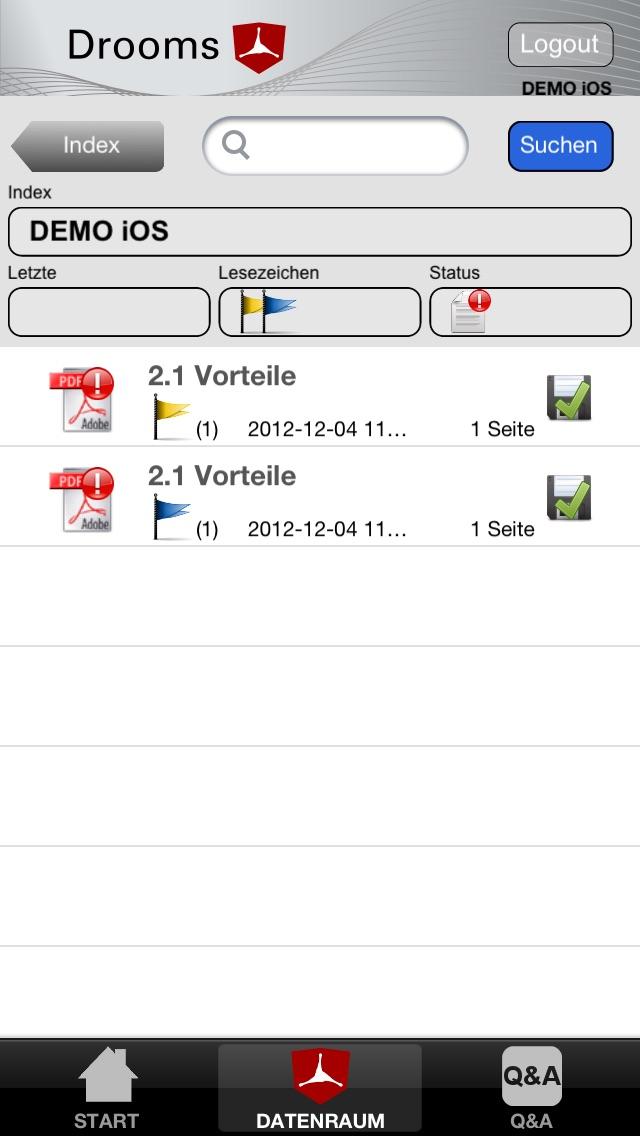 Drooms® für iPad und iPhoneScreenshot von 5