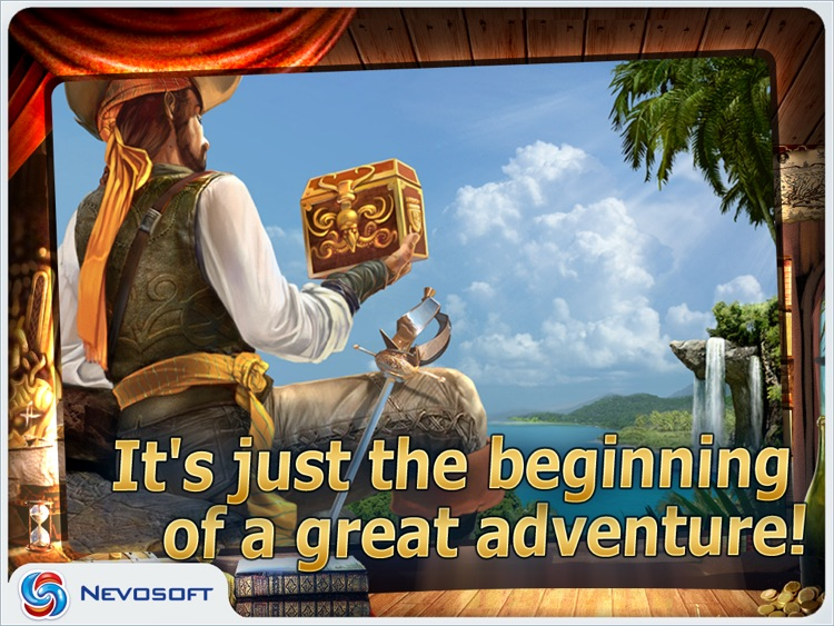 Pirate Adventures HD lite: hidden object game screenshot-4