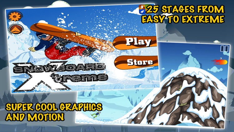 Snowboard Xtreme - Nitro Snow Boarding: Real Downhill Racing