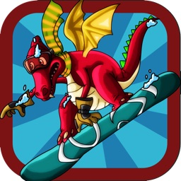 A Dragon Turbo Snowboard Race, Neno vs Yeti