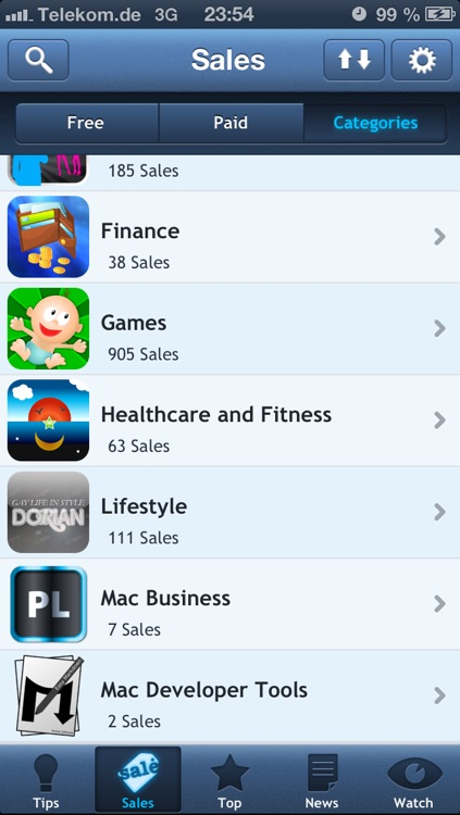 AppTicker Push screenshot-2