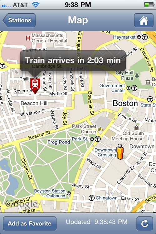 Where's my MBTA T? screenshot-3