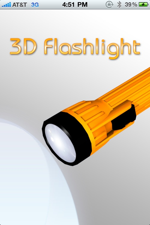 3D Flashlight [LED Flash Support]