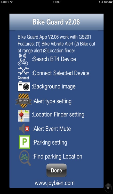 Bike Guard screenshot-3