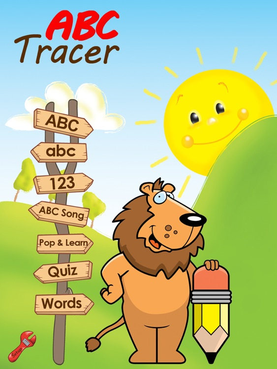 ABC Tracer with words and phonics - HD