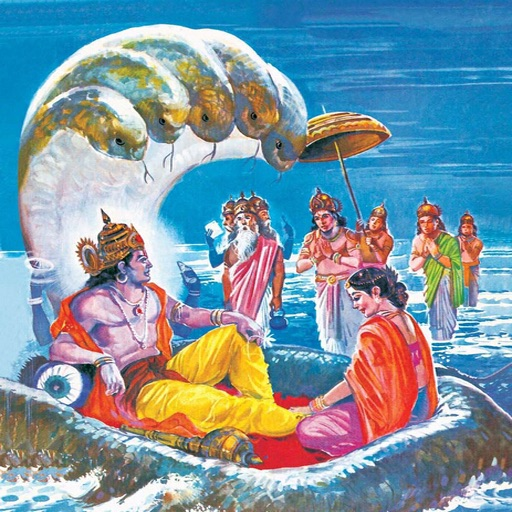 Dashavatar (Ten Avatars of Vishnu) - Amar Chitra Katha Comics