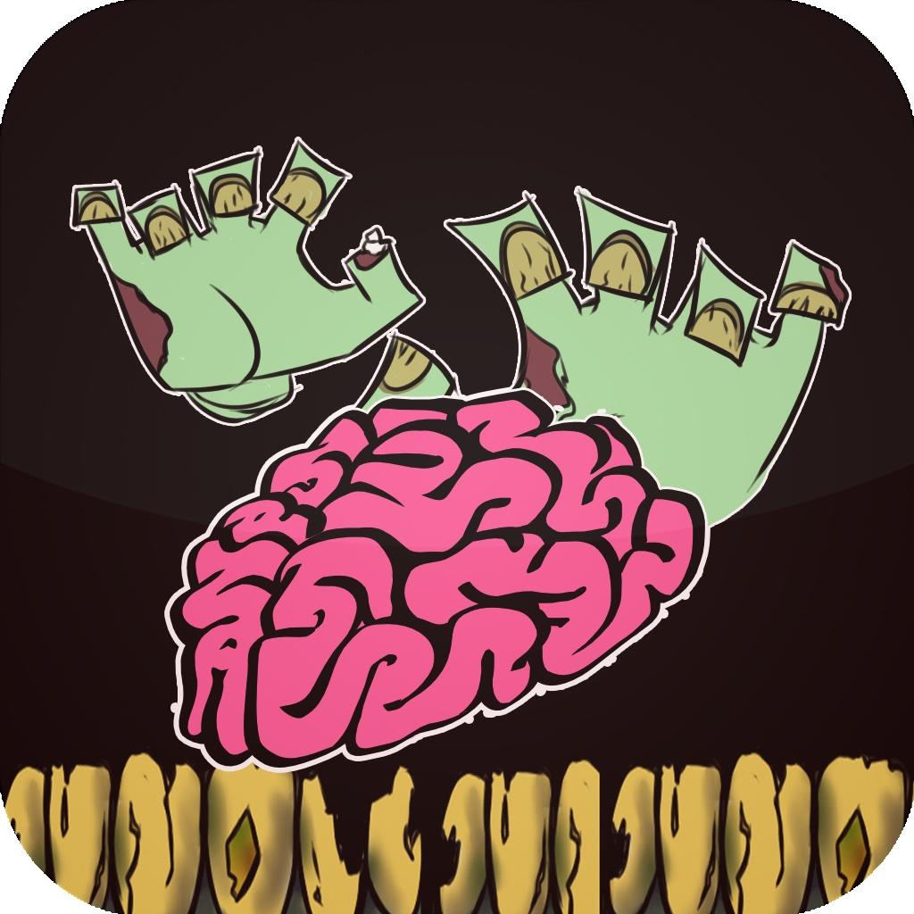 Halloween Zombie Brain Gravity Game -Free