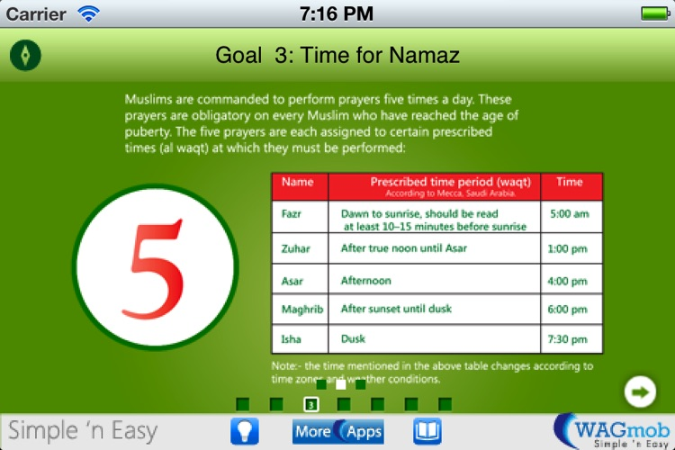 Learn Islamic Culture by WAGmob screenshot-1