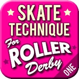 Skate Technique for Roller Derby 1