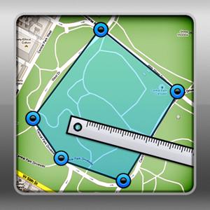 Geo Measure - Map Area / Distance Measurement app
