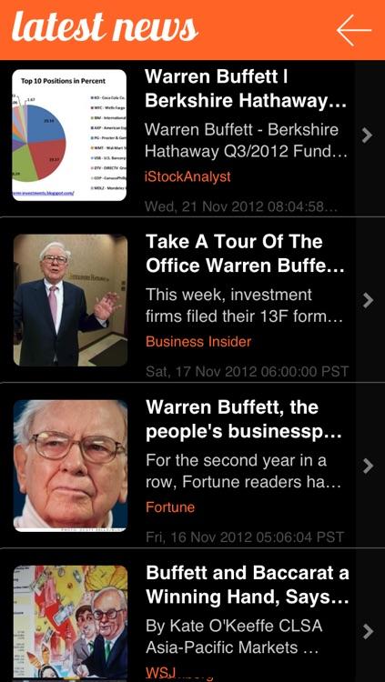 Warren Buffett Tracker