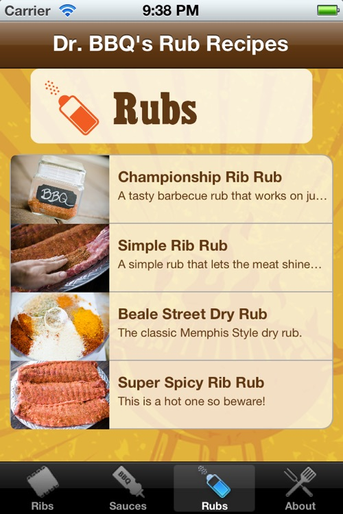 BBQ Ribs Recipes by Dr. BBQ screenshot-2