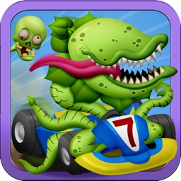 Zombie Kart Hill Racing : A Road Trip of Turbo Carnivore Plants Go Karting Car Racer Game – FREE Fun Kids Version
