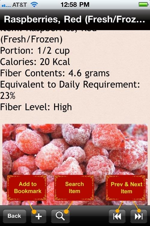 High Fiber Food List screenshot-4