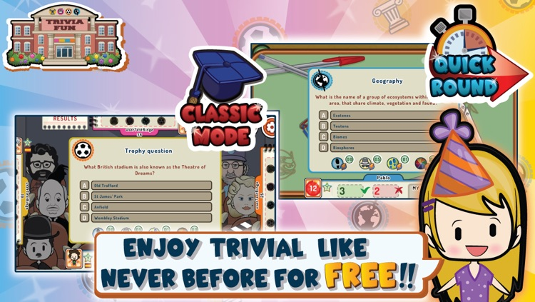 Trivia Fun - FREE Trivial!