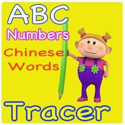 Numbers, Letters and Chinese Words Tracer For Preschool