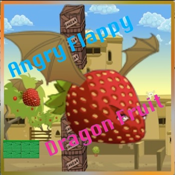 Angry Flappy Dragon Fruit Fun Cute Game Pro