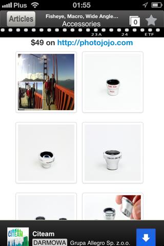 mPhoto - Mobile Phone Photography camera 101 screenshot two