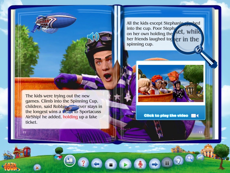 LazyTown's Friends Forever BooClip