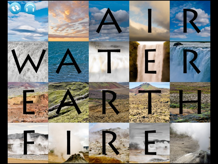 Iceland: air, water, earth, fire