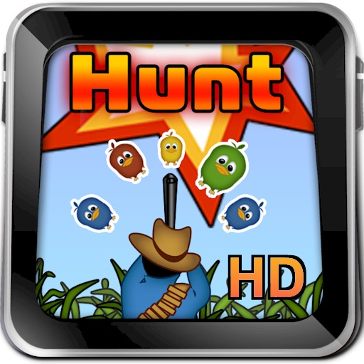 Hunt Defecating Birds Game HD Lite icon
