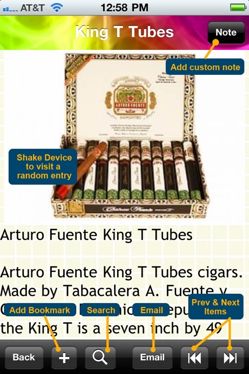 The Cigar Encyclopedia screenshot-4