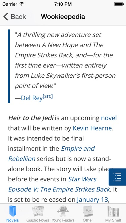 Star Wars Books Collector screenshot-3